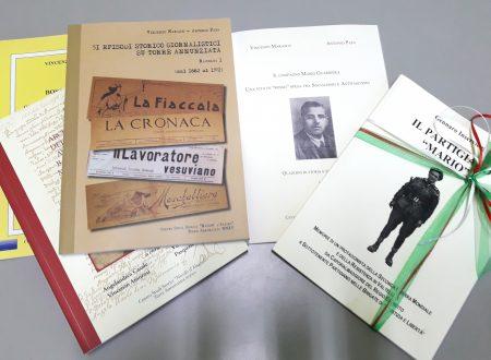 """Il Centro Studi Storici """"Nicolò d'Alagno"""" omaggia la Biblioteca popolare """"Giggino Casciello"""""""